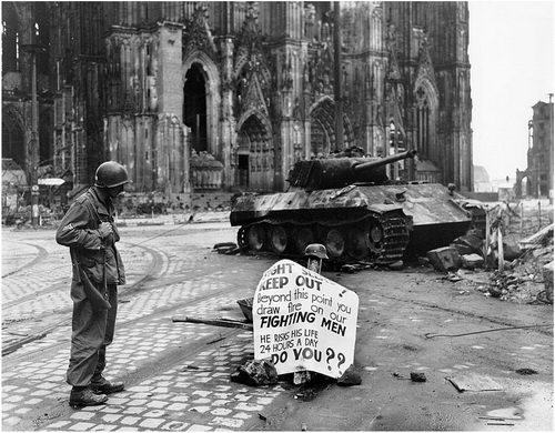 Cologne Cathedral destroied World War II